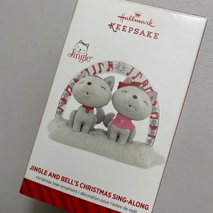 Hallmark 2014 keepsake Jingle & Bell ornament